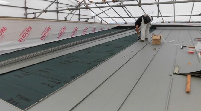 屋根工事終りました