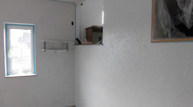 塗り壁終わりました