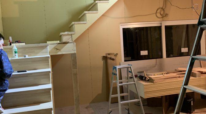 またまた階段施工です^^