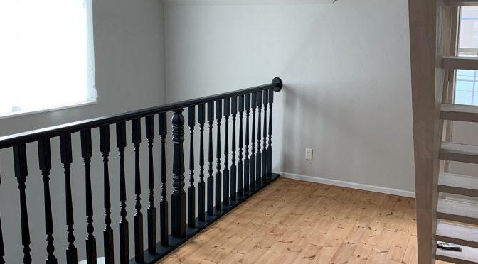 床塗装終わりました^^