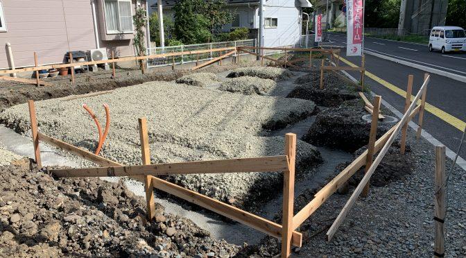 根掘り始まりました