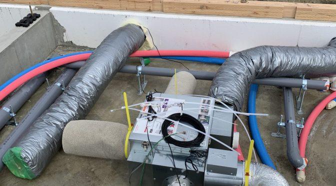 高性能換気システム取り付けました